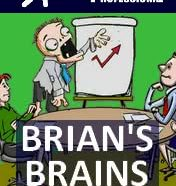 Brians Brains Hugh by Mortimer