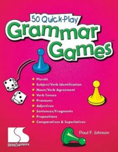 50 Quick Play Grammar Games