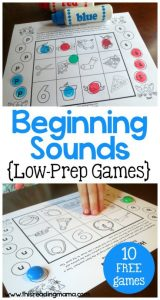 Beginning Sounds (Games)