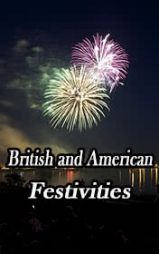 British and American Festivities by Clemen D. B. Gina