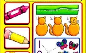 Preschool Basic Skills Scissor Activities and Fine Motor Skills
