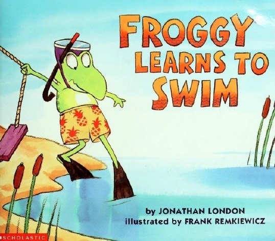 Some books about Froggy by Jonathan London