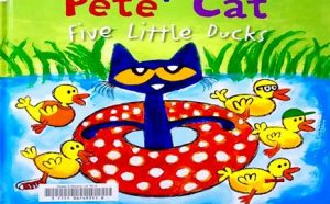 Some books about Pete The Cat by James Dean