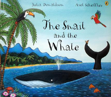 The Snail and the Whale. Colouring